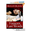 Thumbnail image for Amazon Free Book Download: Famous Last Words