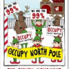"Thumbnail image for ""Occupy North Pole"" Holiday Cards"