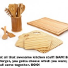 Thumbnail image for Core Bamboo Kitchen Accessories $14.99 Shipped