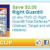 Thumbnail image for Right Guard Printable Coupons PLUS Great Deals