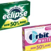 Thumbnail image for Rare Gum Coupon: $1.00 off On any ONE (1) 3-pack Multipack of Eclipse or Orbit White Gum