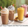 Thumbnail image for Burger King $1.00 Frappes and Smoothies