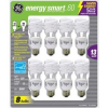 Thumbnail image for GE 13-Watt Energy SmartTM – 8 Pack – 60 Watt Replacement $8.45