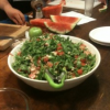 Thumbnail image for Watermelon & Prosciutto Salad #EEinNYC