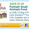 Thumbnail image for Little Wonders Little Pet Food Coupon