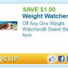 Thumbnail image for Weight Watchers Bakery Item Printable Coupon