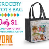 Thumbnail image for York Photo: Personalized Tote Bag $4.99 Shipped