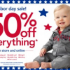 Thumbnail image for Carters: 50% Off The Entire Site Plus 25% off $40 or More