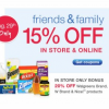 Thumbnail image for Walgreens: 15% Off In Store Or On-Line Purchase