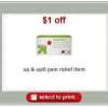 Thumbnail image for Target: Free Up & Up Ibuprofen