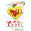 Thumbnail image for Amazon Free Book Download: Quick and Light: Healthy Recipes You'll Fall in Love With