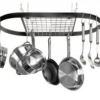 Thumbnail image for Wrought-Iron Oval Pot Rack $31.93