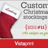 Thumbnail image for Personalized Holiday Stocking $7.99 Shipped