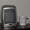Thumbnail image for Lasko Ceramic Heater with Adjustable Thermostat $10.00