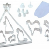Thumbnail image for Eighteen Piece Nativity Cookie Cutter Bake Set $8.64
