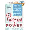 Thumbnail image for Nationwide Give Away: Pinterest Power (2 Copies) and One Hour Pinterest Consultation