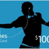 Thumbnail image for GONE: iTunes Gift Card- $100 For $85