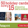 Thumbnail image for 50 Personalized Holiday Cards for $15 SHIPPED!