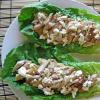 Thumbnail image for Cooking For One Recipes: Chicken Hummus Wrap