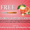 Thumbnail image for Free Florida Grapefruit Knife When You Buy Grapefruit or Juice