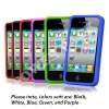 Thumbnail image for Five Pack Soft Rubber Silicon Skin Cover Case Combo for Apple iPhone 4 $4.43 Shipped