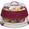 Thumbnail image for Progressive International Collapsible Cupcake and Cake Carrier $24.54