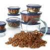 Thumbnail image for Blue Pyrex 18 Piece Glass Storage Set $24.99 Shipped