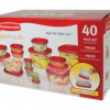 Thumbnail image for Amazon: Rubbermaid Easy Find Lid Food Storage Set, 40-Piece $19.86