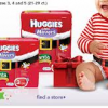 "Thumbnail image for Huggies Diapers as low as $0.07 per diaper at Babies ""R"" Us!"
