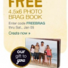 Thumbnail image for Walgreens- FREE 4.5 x 6 Brag Book