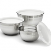 Thumbnail image for Amazon: Cuisinart Stainless Steel Mixing Bowls with Lids, Set of 3 $27.00 Shipped