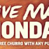 Thumbnail image for Taco Bell- FREE Churro With Purchase 2/4
