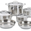 Thumbnail image for Amazon: Cuisinart Chef's Classic Stainless 10-Piece Cookware Set $106