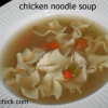 Thumbnail image for Cooking For One: Chicken Noodle Soup