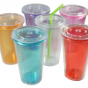 Thumbnail image for Amazon: 6 Double-Wall 16-Ounce Capacity Reusable To Go Travel Mugs $11.95 (LOVE THESE)