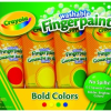 Thumbnail image for Amazon- 4 pack Crayola Washable Fingerpaints $4.88