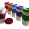 Thumbnail image for Amazon-Set of 6 BPA-Free 16-Ounce Capacity Reusable To Go Travel Mugs with Grip Only $17.49
