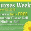 Thumbnail image for Nurses Week: Cinnabon Free Classic Roll or Minibon Roll (5/6-5/12)