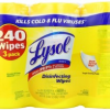 Thumbnail image for Lysol Wipes $.04 Per Wipe Shipped