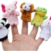Thumbnail image for Amazon-10pcs Velvet Animal Style Finger Puppets Set $3.16