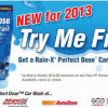Thumbnail image for FREE Rain-X Perfect Dose Car Wash Through May 10th (After Mail-In Rebate)