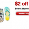 Thumbnail image for Target – Up To Free Women's Flip Flops