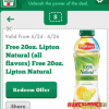 Thumbnail image for 7-Eleven: Free 20 oz. Lipton Tea Through June 26th (Mobile App Users Only)