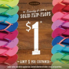Thumbnail image for Old Navy: $1 Flip Flop Sale 6/29