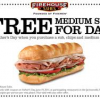 Thumbnail image for Firehouse Sub: Free Medium Sub for Dad on Father's Day