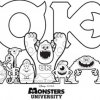 Thumbnail image for Monsters University Activity Sheets