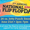 Thumbnail image for TODAY: National Flip Flop Day: Free Tropical Smoothie