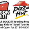 Thumbnail image for Pizza Hut Book It Program Open for 2013-2014 School Year