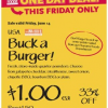 Thumbnail image for Mid-Atlantic Whole Foods Stores: Buck A Burger Sale 6/14