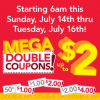 Thumbnail image for Farm Fresh Supermarkets Super Double Coupons 7/14 – 7/16